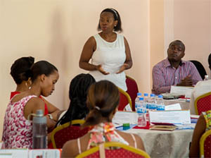 The-Chairperson-NFNV-Monique-Nsanzabaganwa-while-addressing-people-during-the-workshop